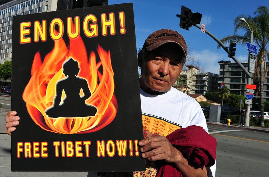Tibeto palaikymo akcija