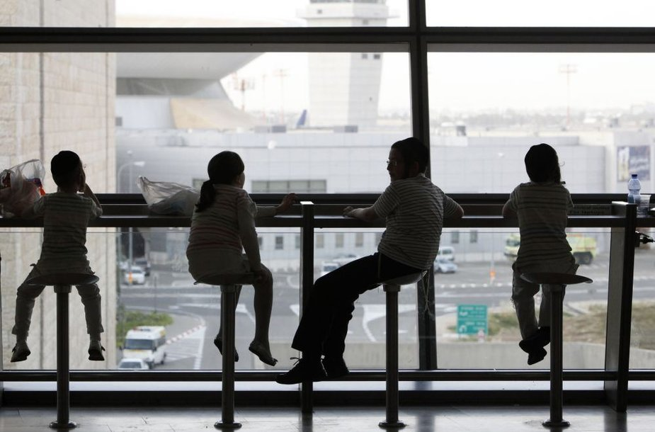 Vaikai oro uoste