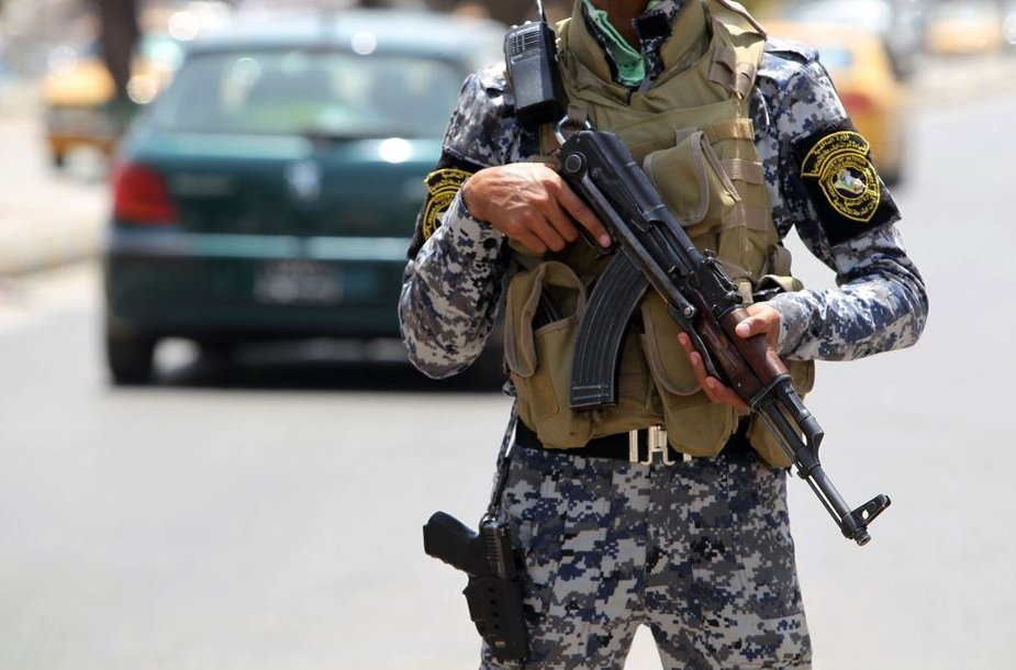Irako policininkas