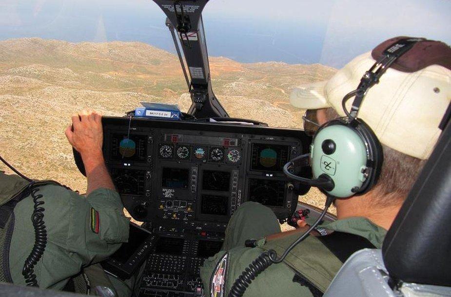 VSAT sraigtasparnis sėkmingai dalyvavo Viduržemio jūros regione vykusioje tarptautinėje operacijoje prieš nelegalią migraciją