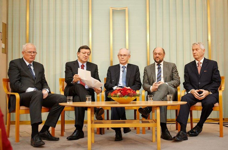 Europos Sąjungos (ES) lyderiai Norvegijoje