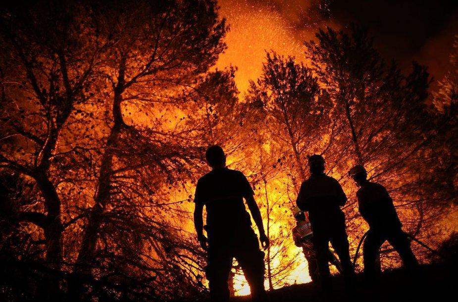Ugniagesys – viena pavojingiausių specialybių
