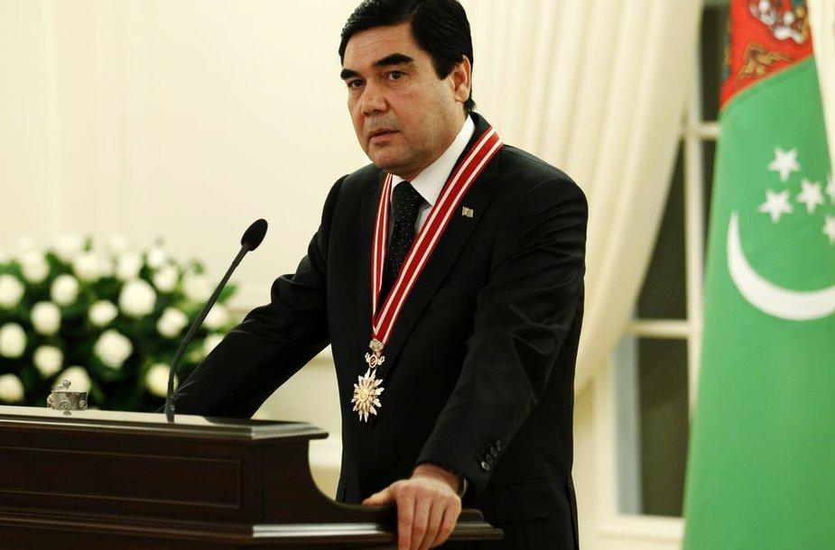 Turkmėnistano prezidentas Gurbangulis Berdimuchamedovas