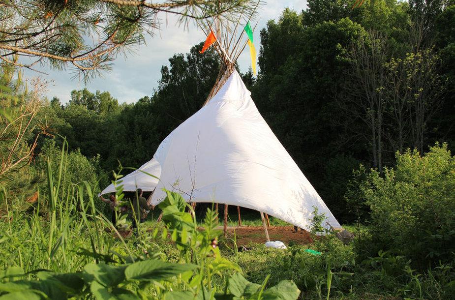 """Festivalyje """"Yaga Gathering 2013"""" – Šiaurės Amerikos indėnų išmintis"""