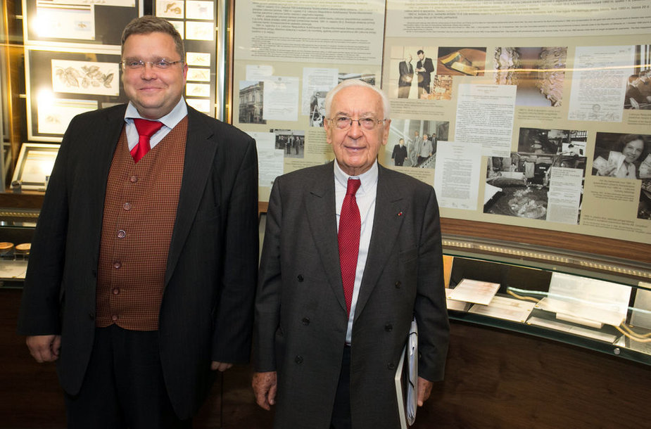 Vitas Vasiliauskas ir Jacques de Larosière