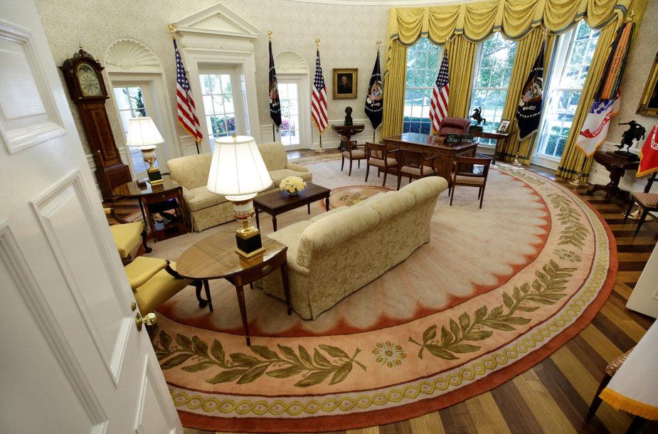 D.Trumpo Ovalusis kabinetas