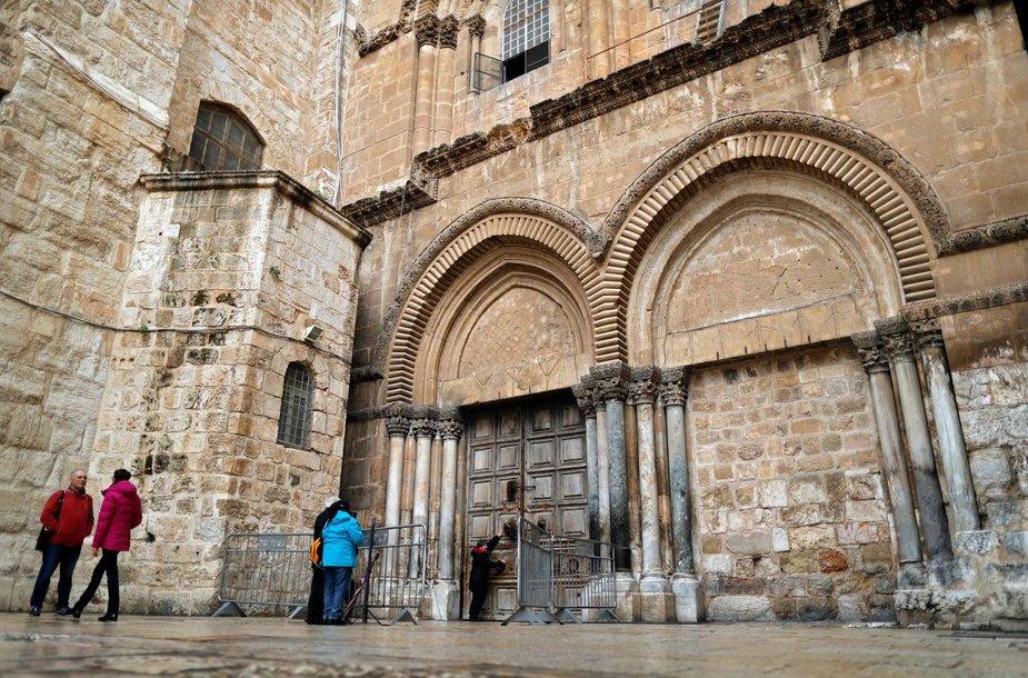 Uždaryta Šv. Kapo bazilika