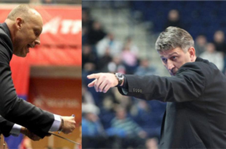 Rimas Kurtinaitis ir Darius Maskoliūnas