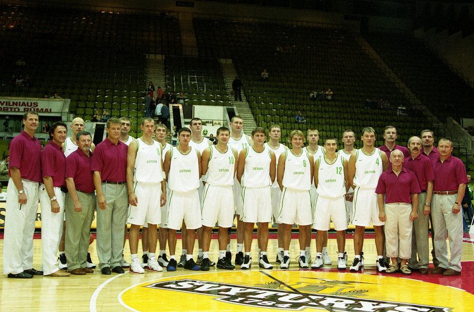 Lietuvos krepšinio rinktinė 2003 metais