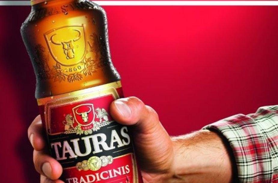 """naujausia """"Tauro"""" alaus reklama"""