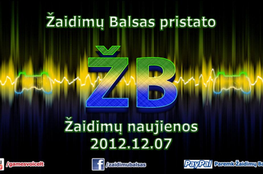 """Žaidimų naujienos 2012.12.07 """"Žaidimų Balsas"""""""