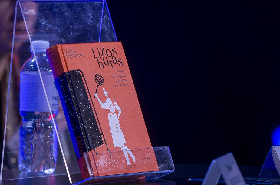 """Vaivos Rykštaitės knygos """"Lizos butas""""pristatymas"""