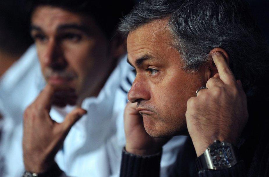 """""""Real"""" treneris Jose Mourinho"""