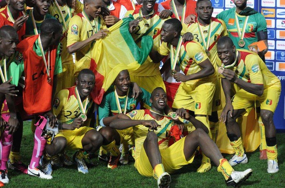 Trečiąją vietą Afrikos čempionate iškovojo Malio rinktinė