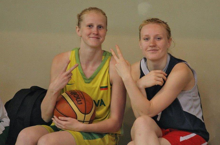 Lietuvos dvidešimtmečių krepšinio rinktinė linksmai rengiasi būsimam Europos čempionatui