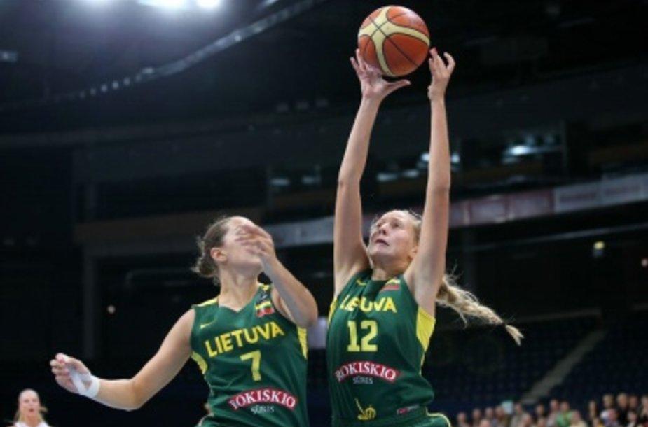 Lietuvos devyniolikmetės baigė kovą dėl pasaulio čempionato medalių