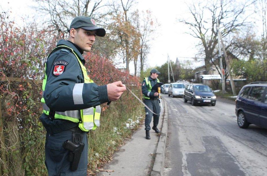 """Vilniuje """"Mercedes"""" vairuotojas partrenkė 9 metų berniuką"""