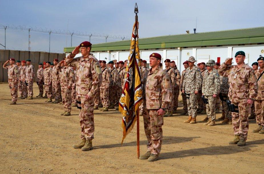Tarnybą Goro provincijoje pradėjo šešioliktoji Lietuvos karių pamaina