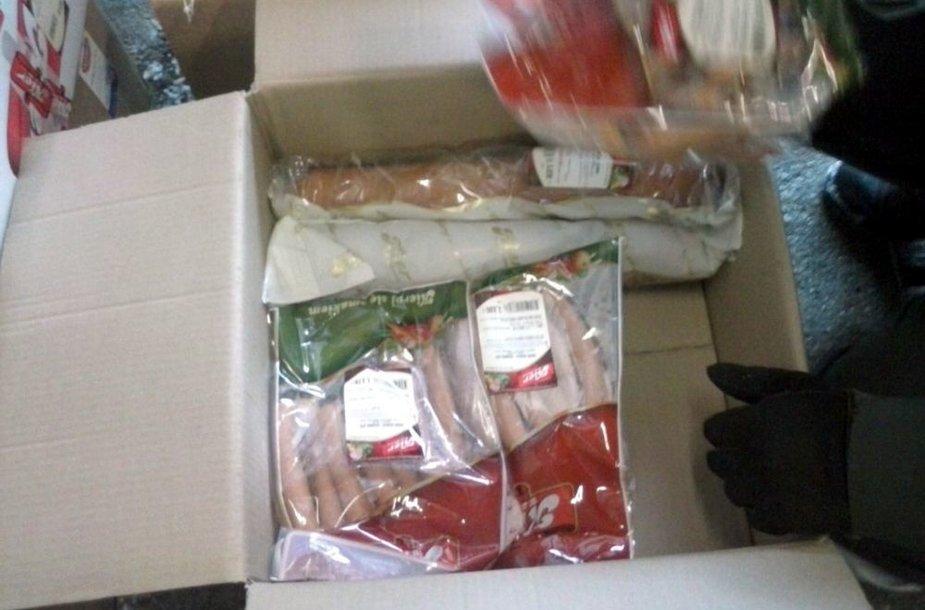 Mėsos krovinys