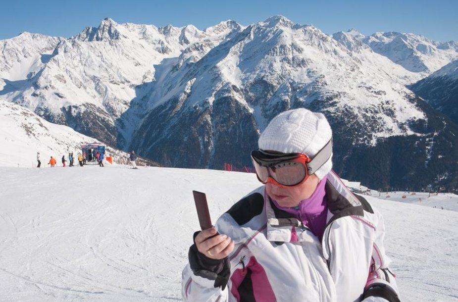 Mobiliosios programėlės slidininkams