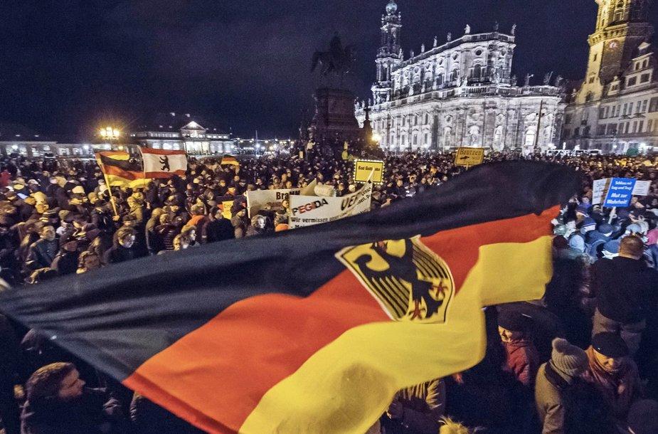 Protestas prieš islamą Dresdene
