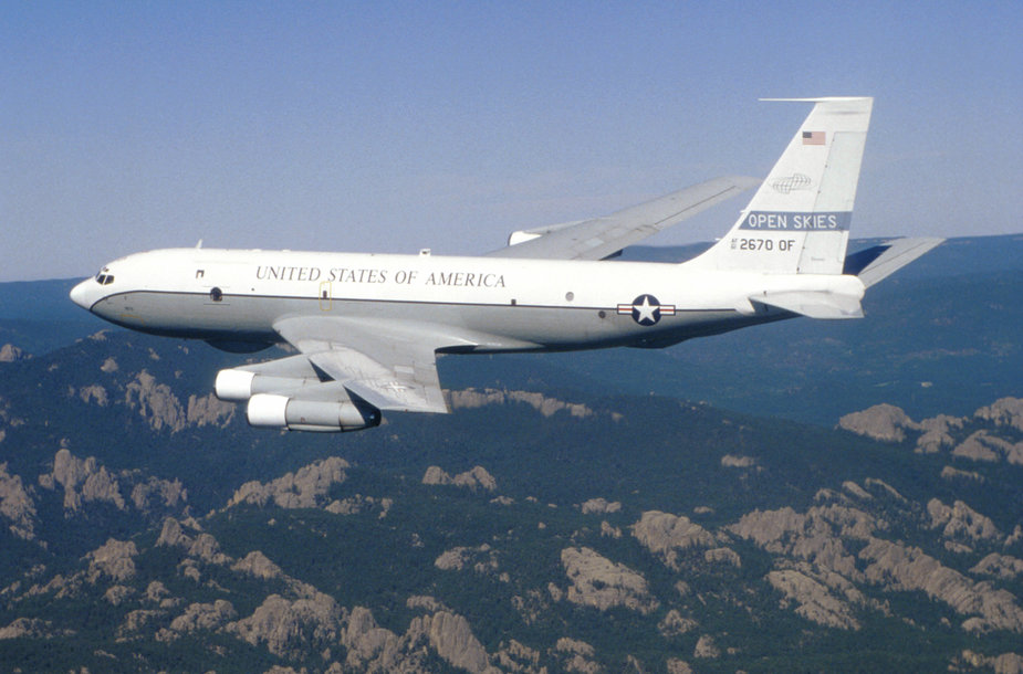 "Žvalgybos lėktuvas ""OC-135 Open Skies"""