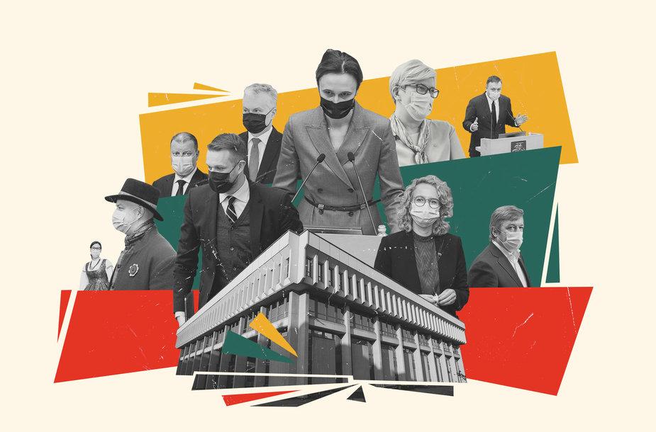 Seimo šimtadienis – svarbiausių įvykių ir darbų apžvalga