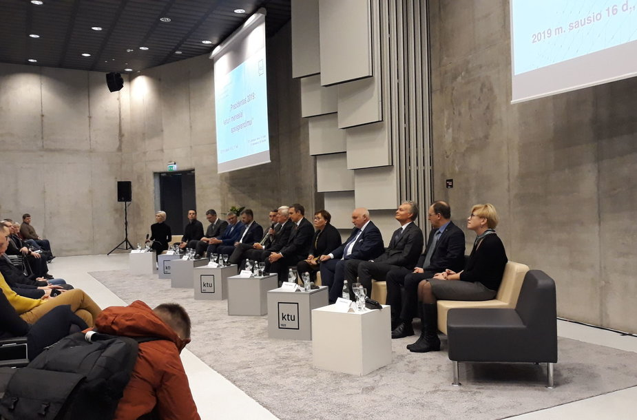 Kandidatų į prezidentus diskusija KTU