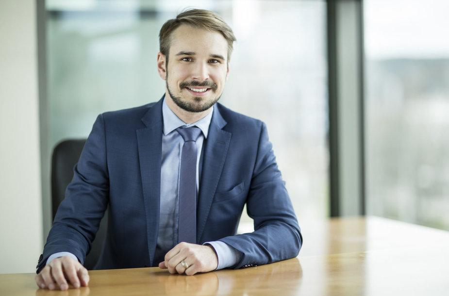"""""""INVL Asset Management"""" Investicijų valdymo padalinio vadovas Vaidotas Rūkas"""