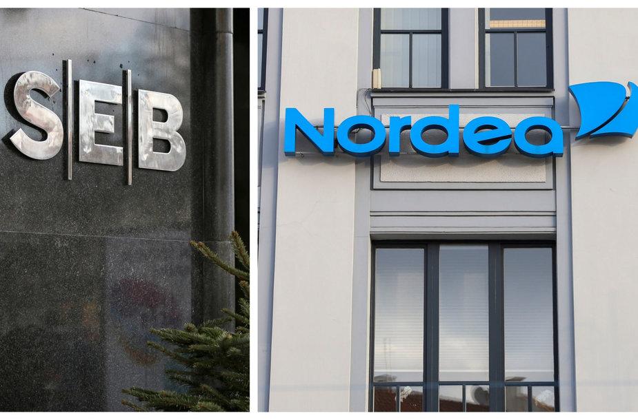 """SEB ir """"Nordea"""" bankų atsakymai JAV tarnybų kol kas netenkina"""