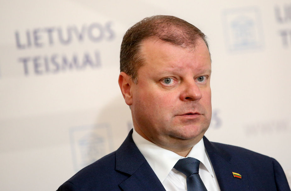 Ministras pirminininkas Saulius Skvernelis lankosi Vilniaus apygardos teisme