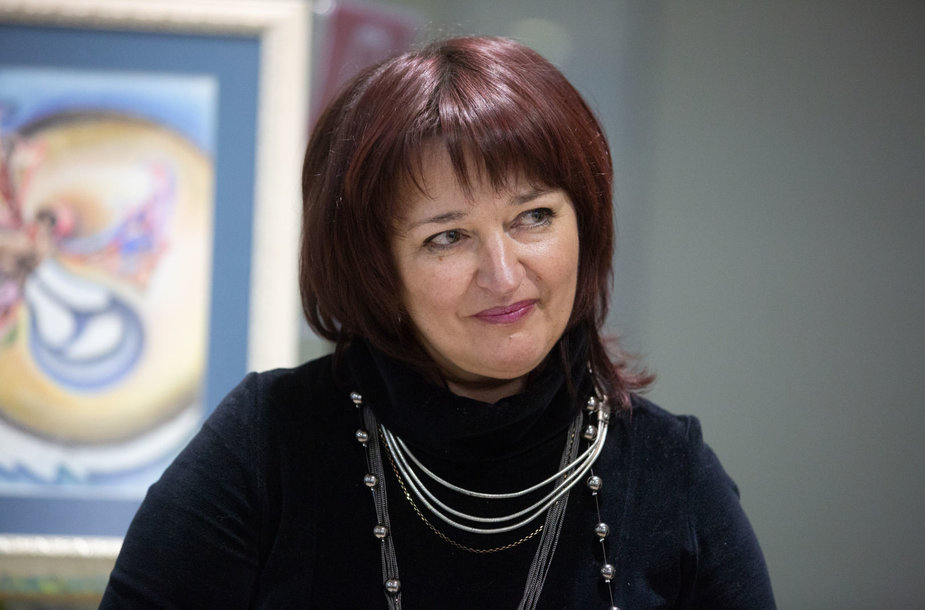 Elytės Krasauskaitės darbų parodos atidarymas