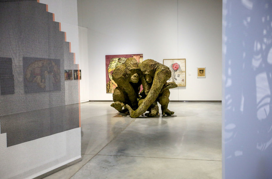 """Paroda """"Gyvūnas-žmogus-robotas"""" Mo muziejuje"""