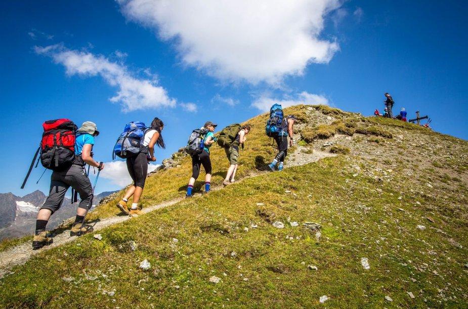 Žygis Alpių kalnuose