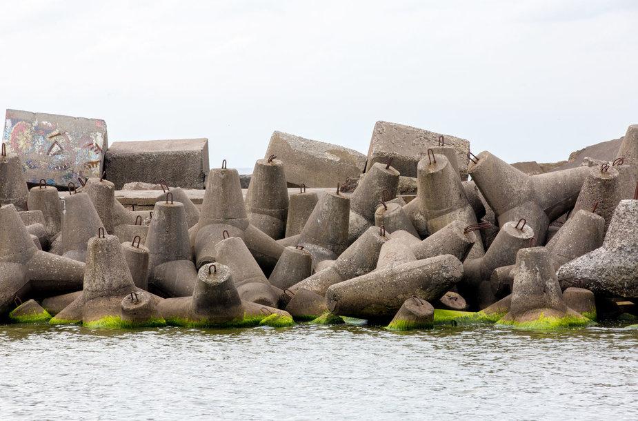 Klaipėdos jūrų uosto kasdienybė