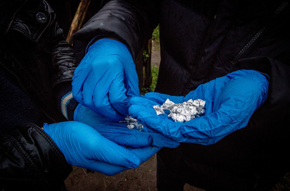 Policijos reidas į Čigonų taborą