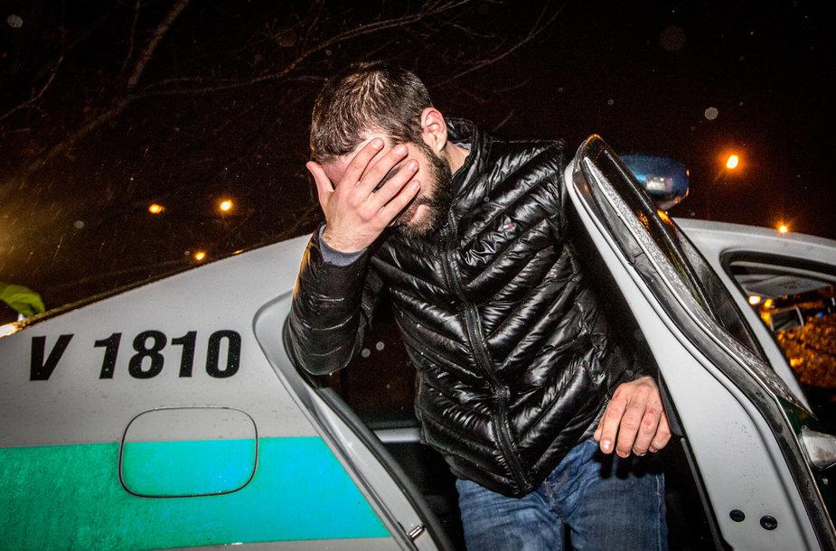 Kelių policijos reidas Vilniuje