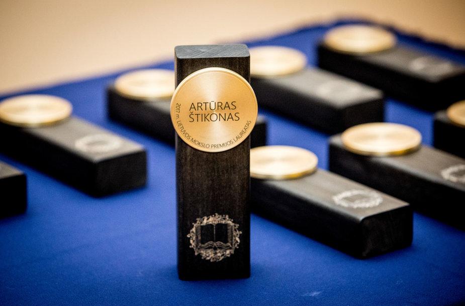 2017 metų Lietuvos mokslo premijos įteikimo ceremonija Mokslų