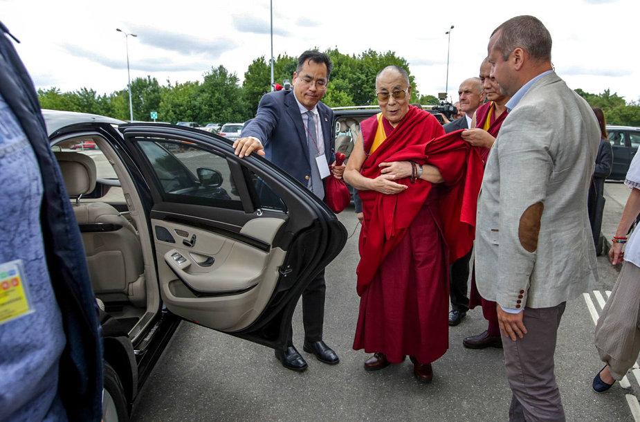 Į Lietuvą atvyko Dalai Lama