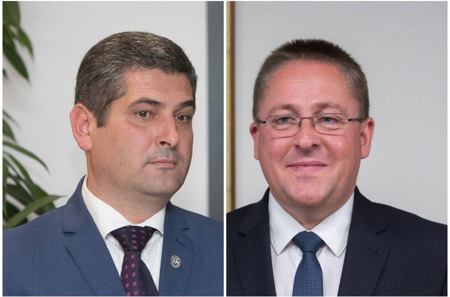 Darius Jasaitis ir  Šarūnas Vaitkus