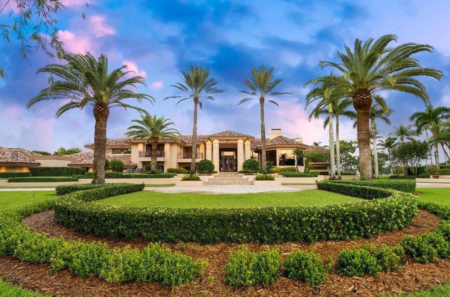 Parduodamas prabangus namas Floridoje