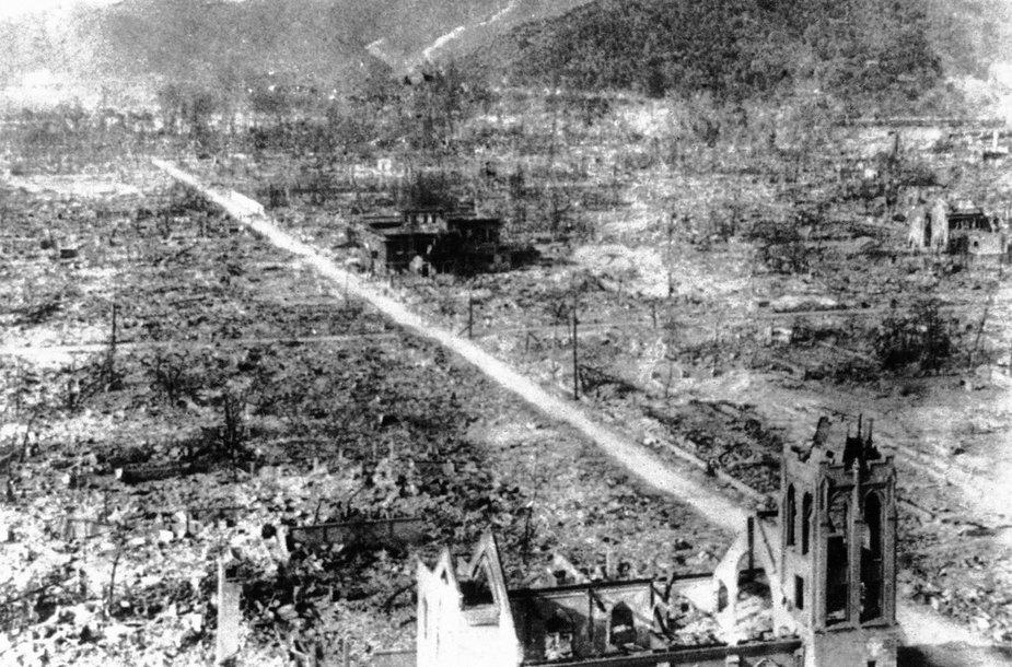Prieš 70 metų ant Hirosimos ir Nagasakio miestų Japonijoje buvo numestos atominės bombos