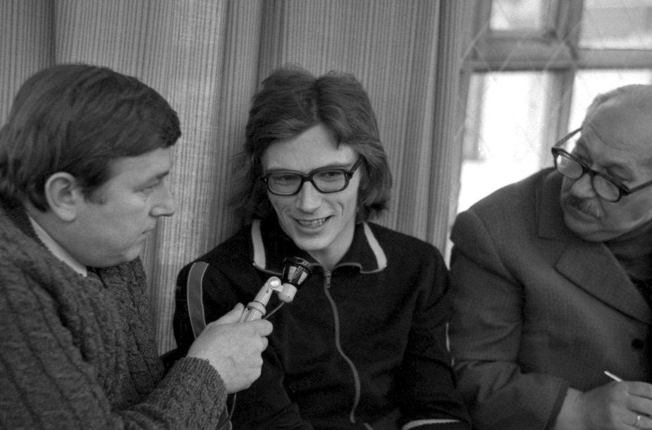 1980 sausis. Antanas Paulaitis