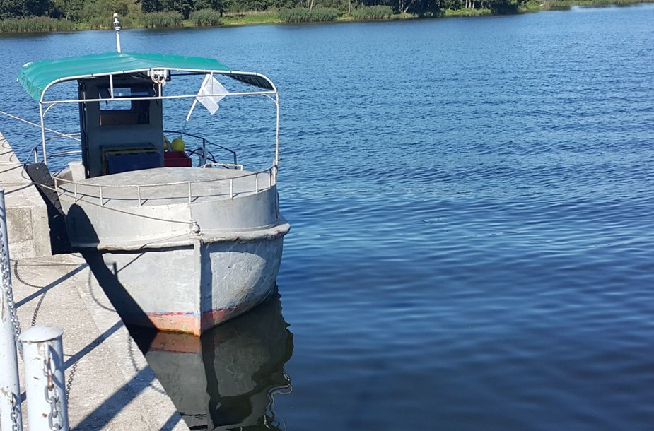 Šilutės rajone iš valties iškrito vyras