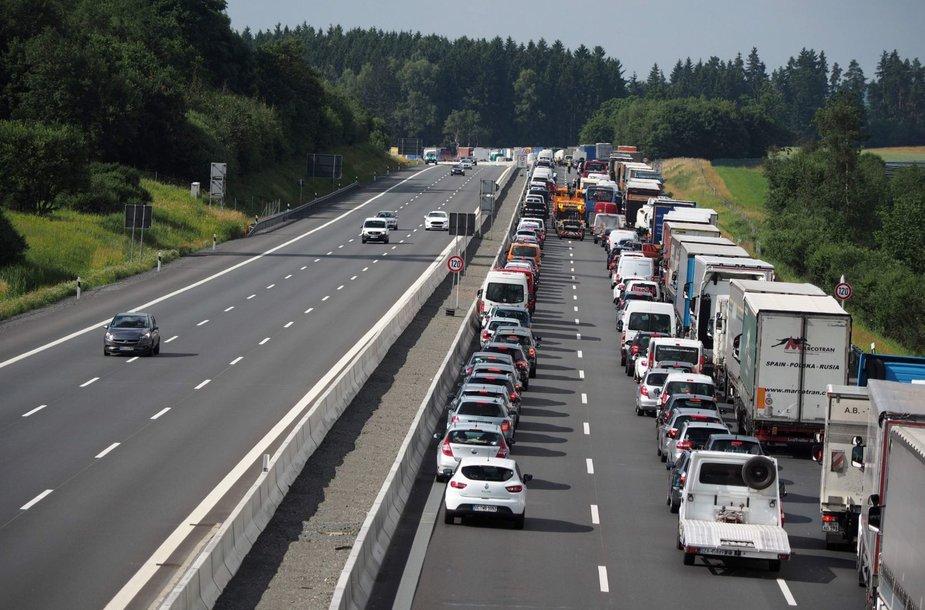 Autobuso avarija Vokietijoje