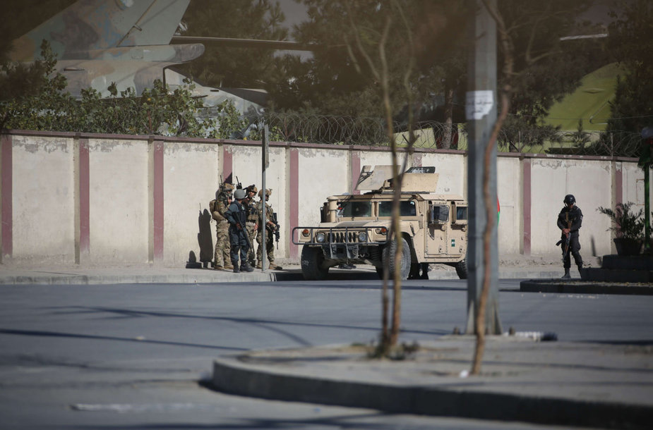 Kabule užpulta afganų televizija