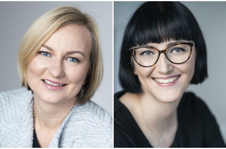 Aušrinė Žilinskienė ir Rūta Nanartavičiūtė
