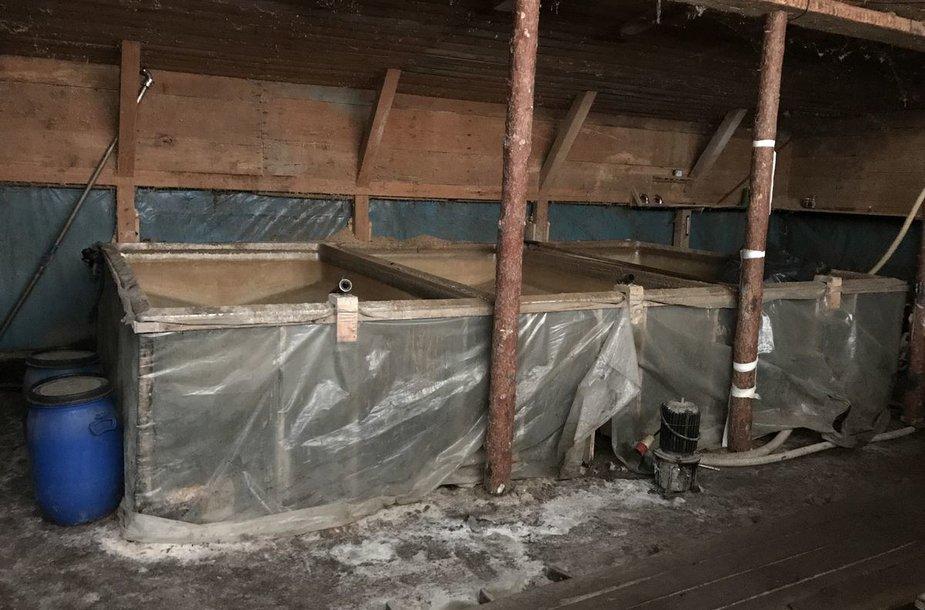 Nelegali naminės degtinės gamyba