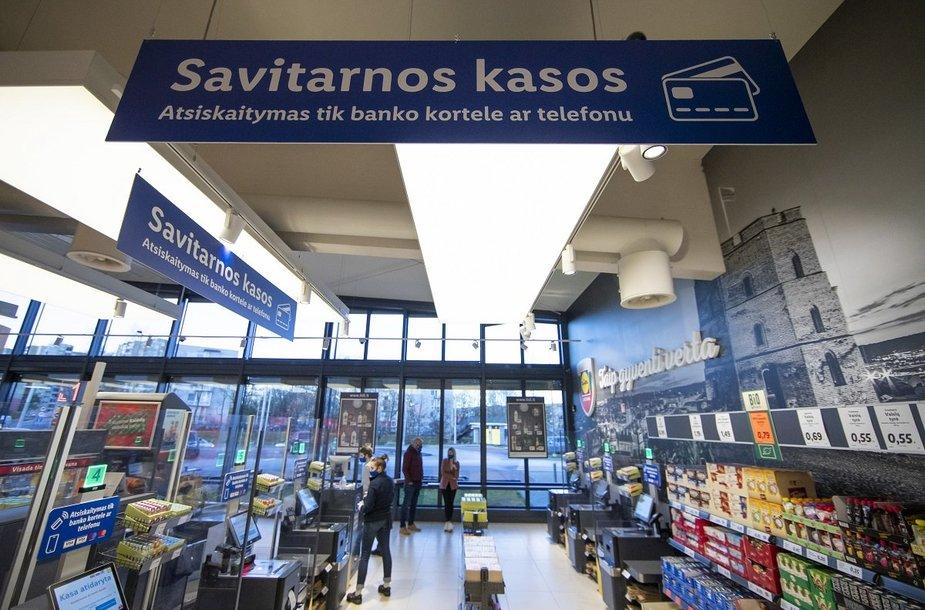 """Savitarnos kasos – jau ir """"Lidl"""" parduotuvėje G9 Vilniuje"""
