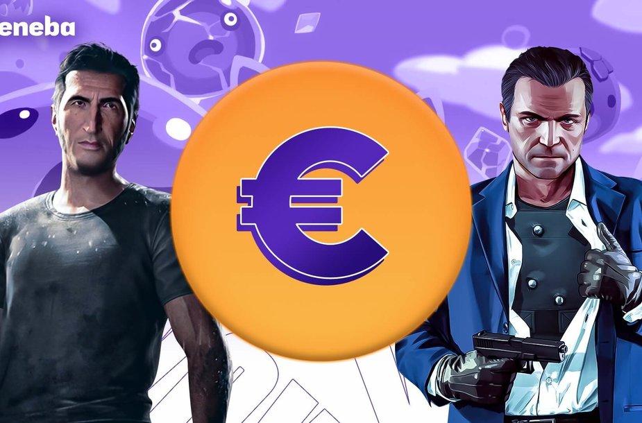 """""""Eneba"""" pristato: žaidimai pigiau nei 10 eurų!"""